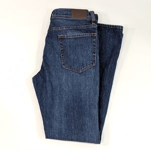 J Crew The Sutton Jeans Straight Leg Faded